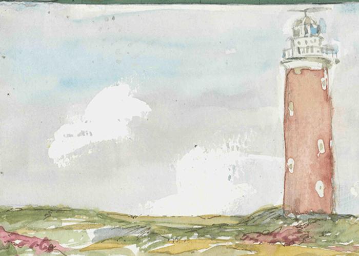 De Vuurtoren van Texel