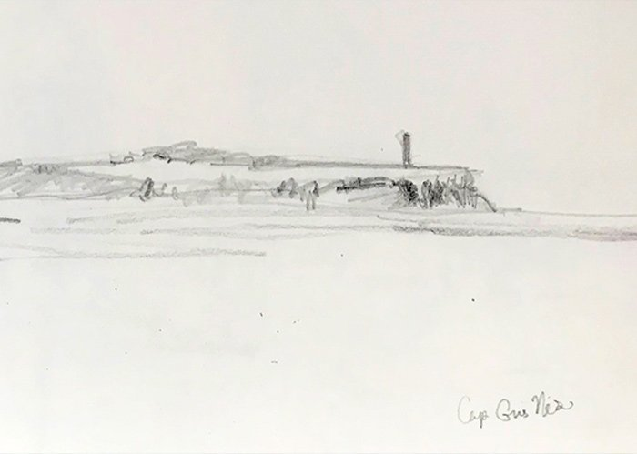 Solo bij Kaap Gris-Nez