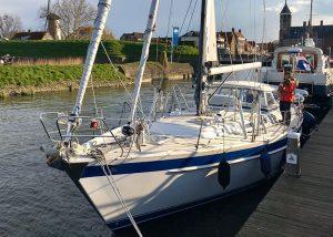 Hallberg Rassy - Morgane of Sark - staande mast route - Zeilwereld