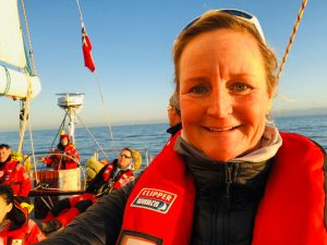 Clipper Round the World Race - Angela Brandsma