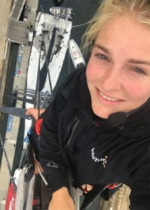 Rosalin Kuiper selfie mast