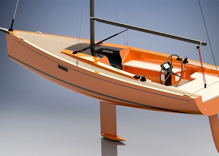 Oranje render SE 27 Leisure