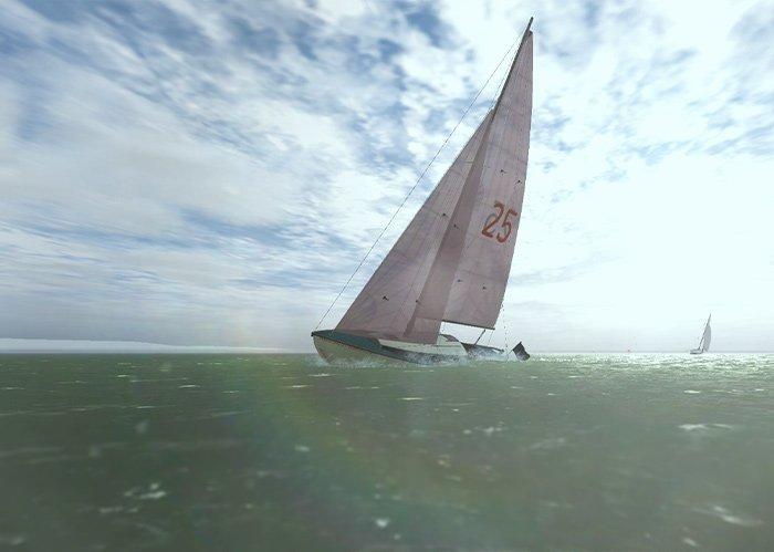 SailAway Nordic Folkboat