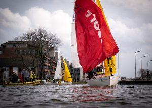 Matchracen tijdens de Slag om Delft 2020