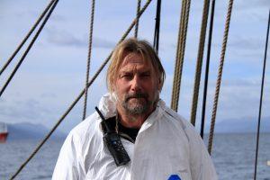 Bark Europa kapitein Eric Kesteloo