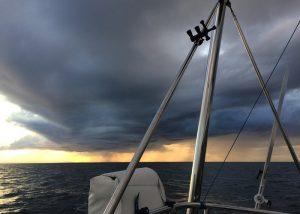 wolken stern noordzee