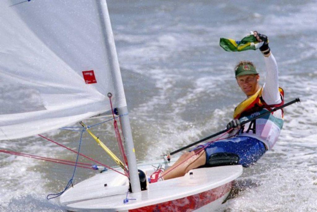Laser Olympische Spelen Atlanta 1996 - Robert Scheidt