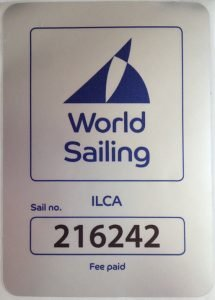 World Sailing en ILCA vignet