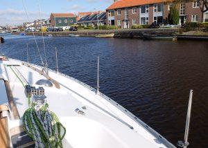 Boot zonder zeereling
