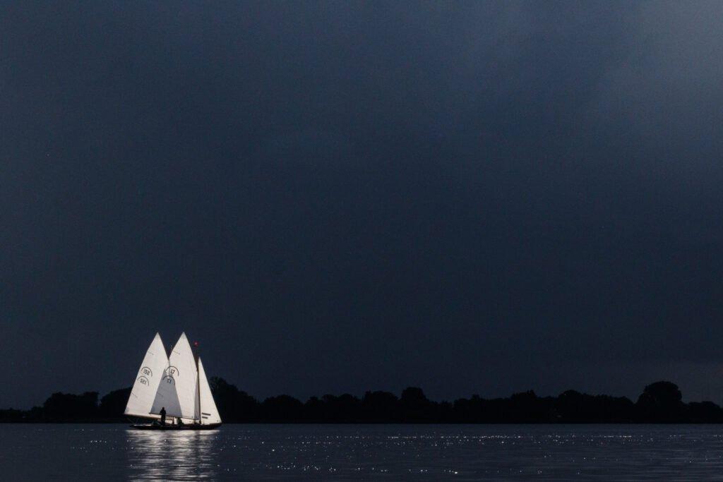 Fotowedstrijd windstil Sneekermeer