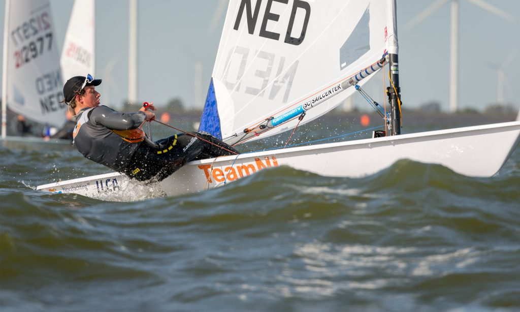 Zeiltalent Paul Hameeteman werkt hard aan zijn droom de Olympische Spelen