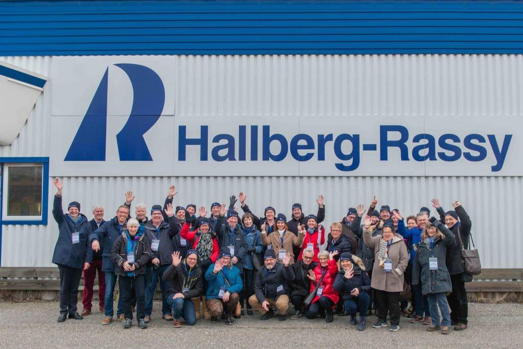 Een bezoek aan de Hallberg Rassy werf in Zweden