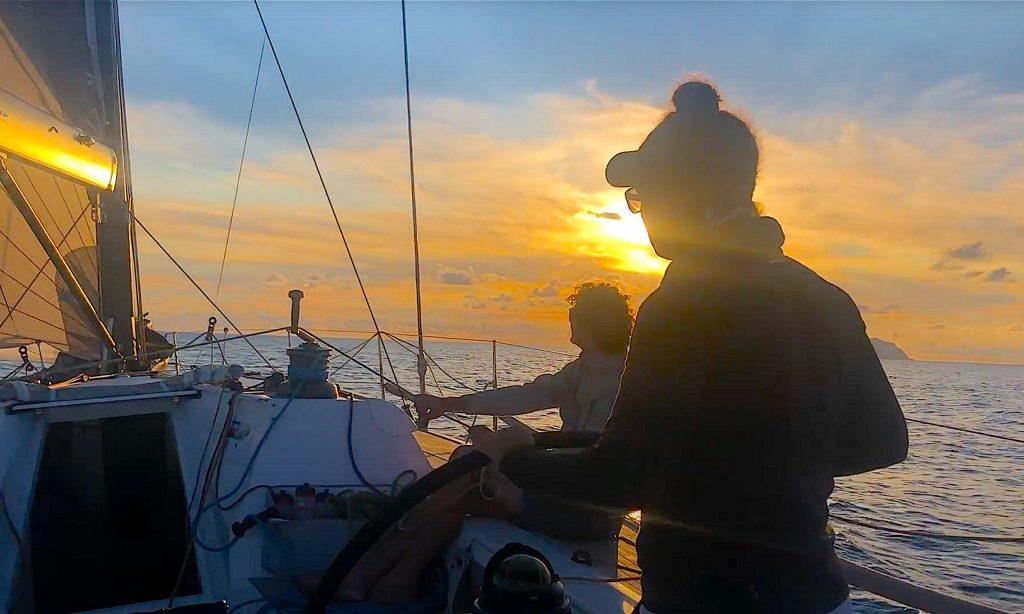 Rolex Middle Sea Race - interview Laura van Veen