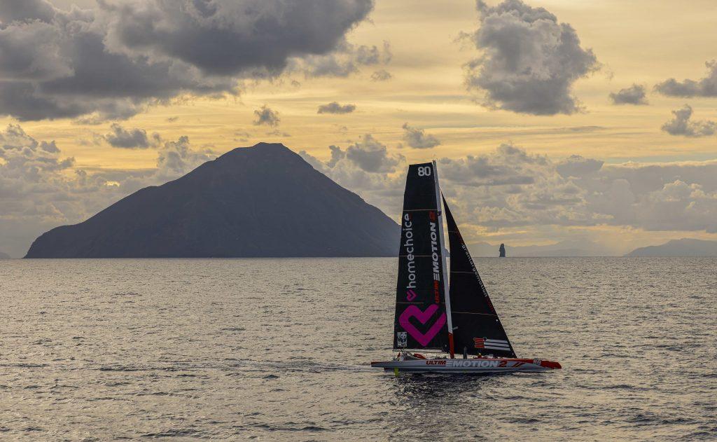 Ultim'Emtion in de Rolex Middle Sea Race met Jolbert van Dijk aan boord