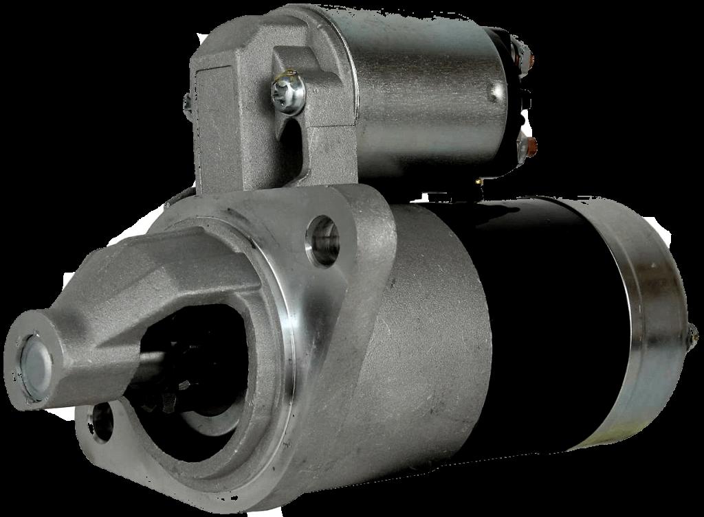 De solenoide bovenop de startmotor van je dieselmotor