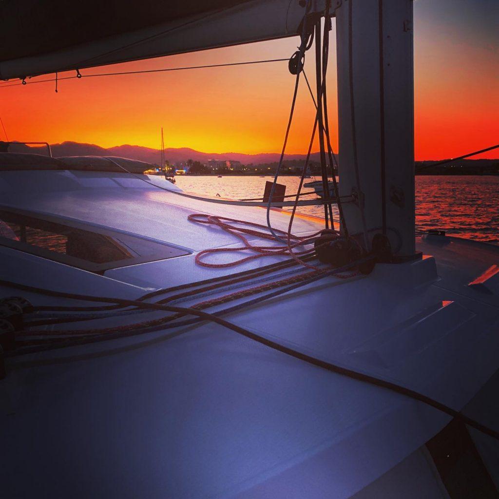 Een zonsondergang door Luuke Verboon als inzending voor de kleurrijke fotowedstrijd