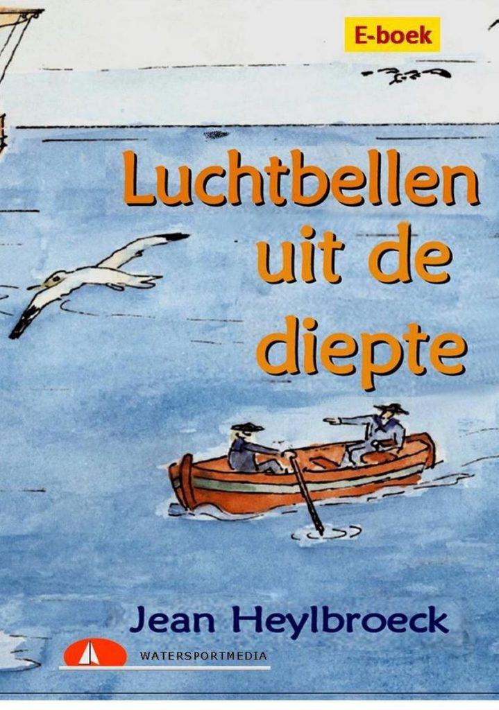 Cover kinder e-boek Luchtbellen uit de diepte