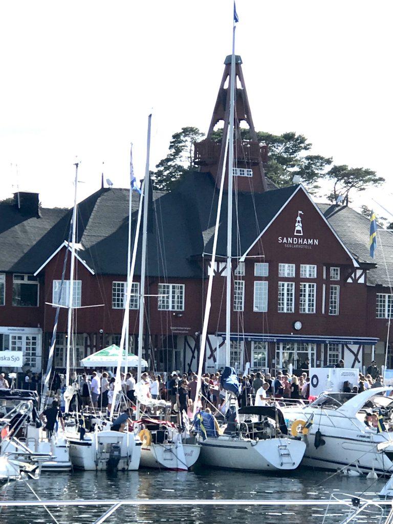 Het clubhuis van de Kungliga Svenska Segelsällskapet