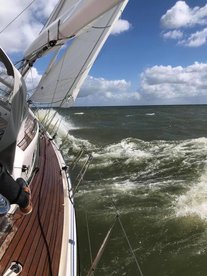 X-zeilers willen altijd harder en halen het uiterste uit hun boot