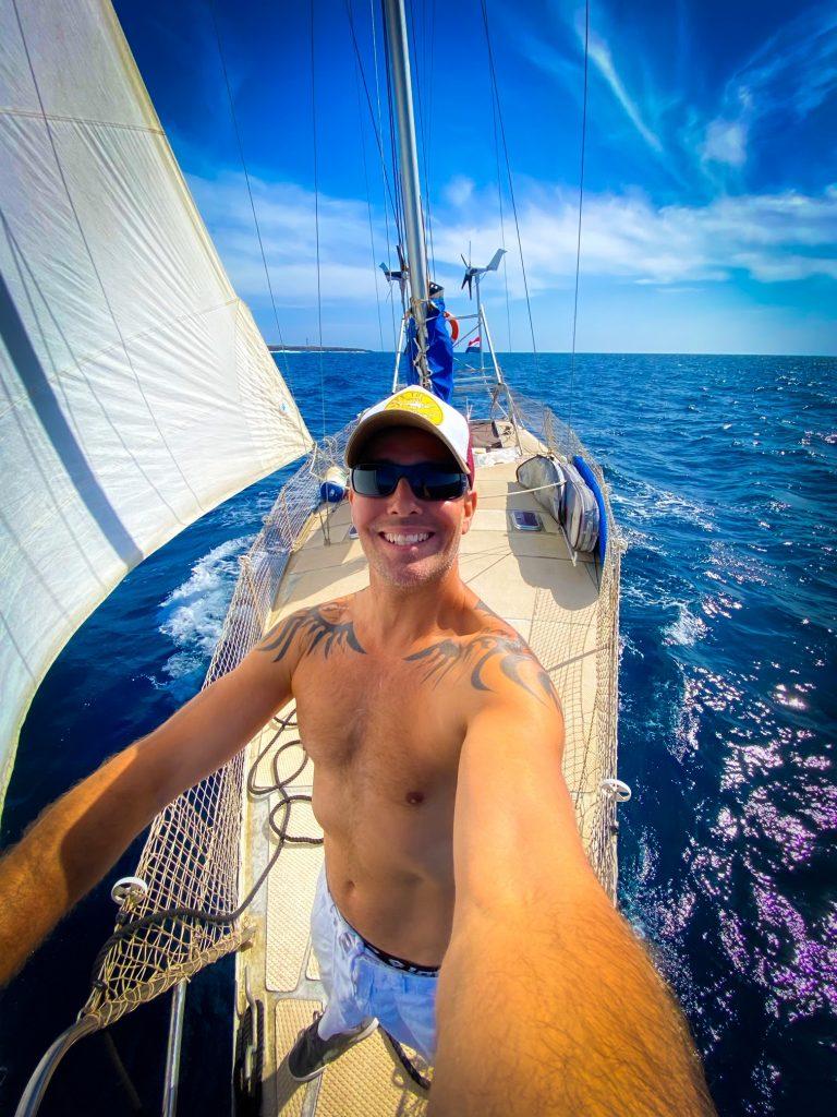 Spotlight Andries Bik Around the World Sailing