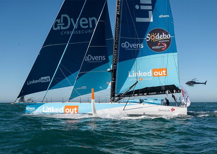 LinkedOut Depart Vendée Globe