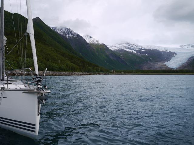 X-Yacht op het noordelijke deel van de wereld.