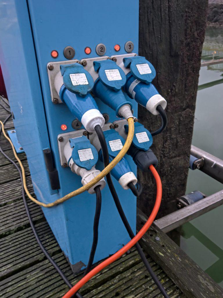 Elektriciteit haven Terschelling