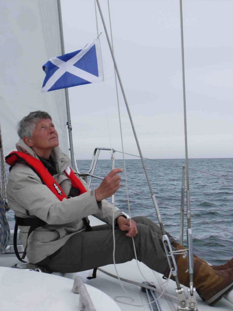Peterhead Schotse gastenvlag