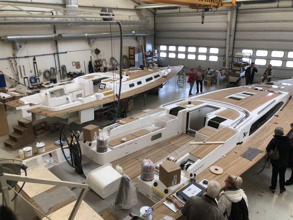 X-Yachts Club Nederland werfbezoek in Denemarken