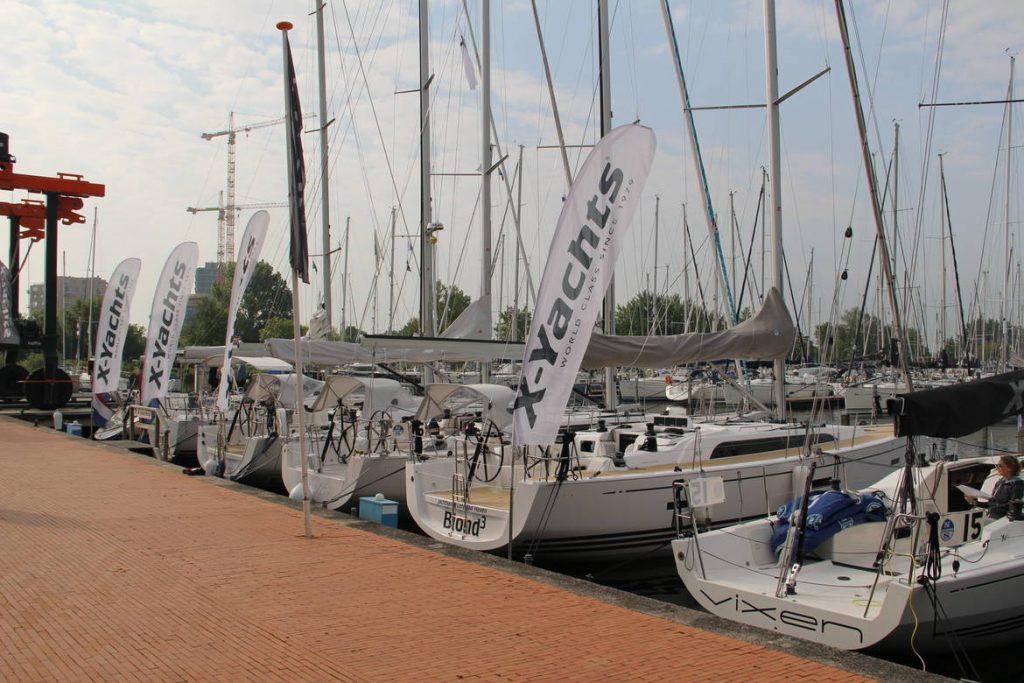 De dealer van de X-Yachts huisvest in Muiderzand