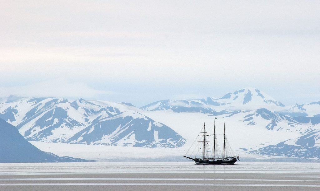 Wildcard fotowedstrijd Dieter de Smet bij Spitsbergen