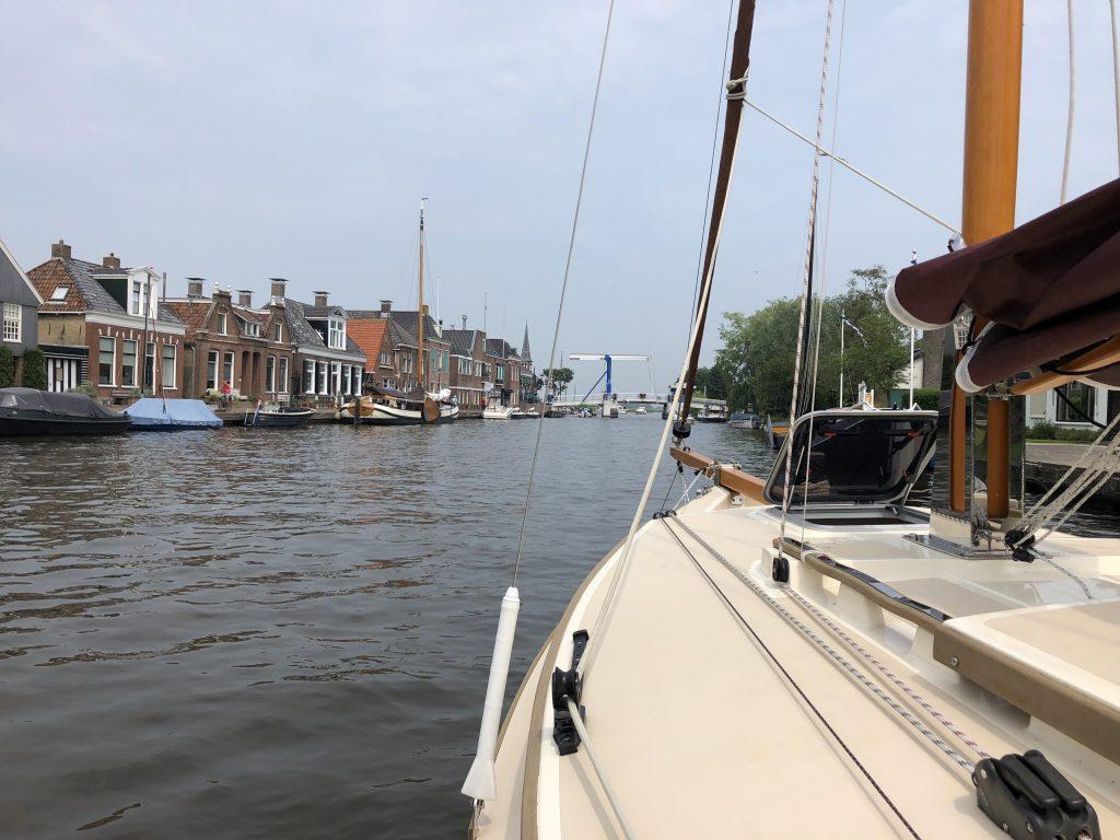 Varen door Friesland vindt spotlight Wessel geen straf!