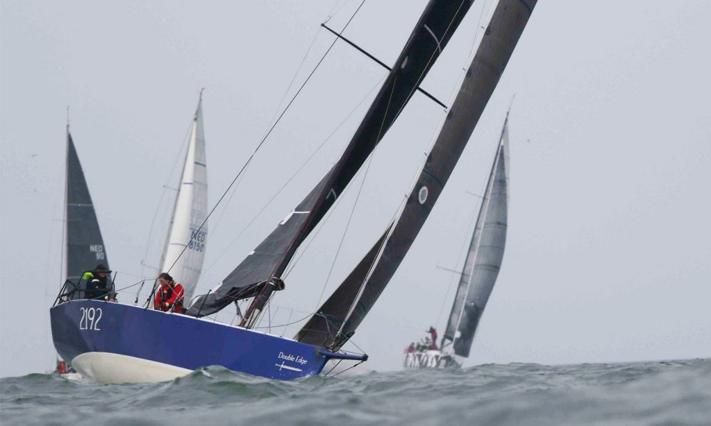 Fastnet Race double handed met Double Ege