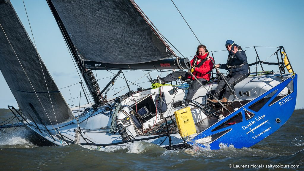Double Edge in de IJspegel race Scheveningen