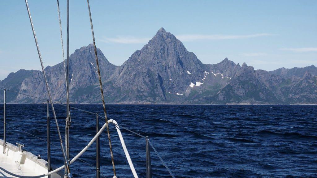 Noorse kust zeilen
