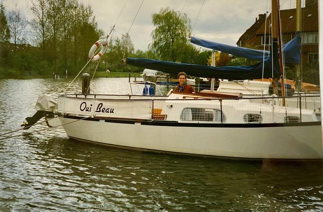 Oui Beau de eerste boot van spotlight Anne Hiske en Jan Daniel