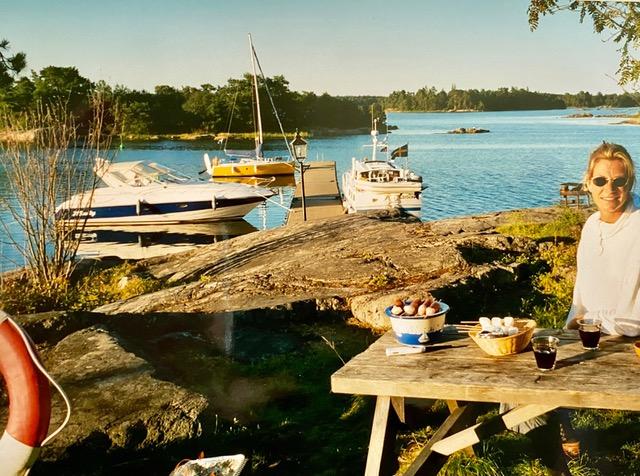 De scherenkust in Zweden