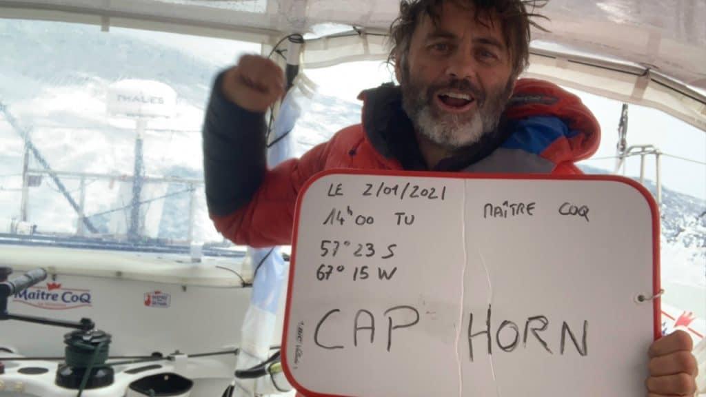 Yannick Bestaven Maître Coq Cap Horn