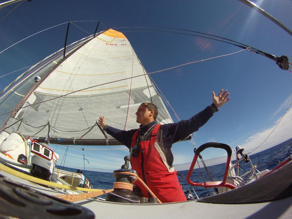 Global Ocean Race Marco Nannini