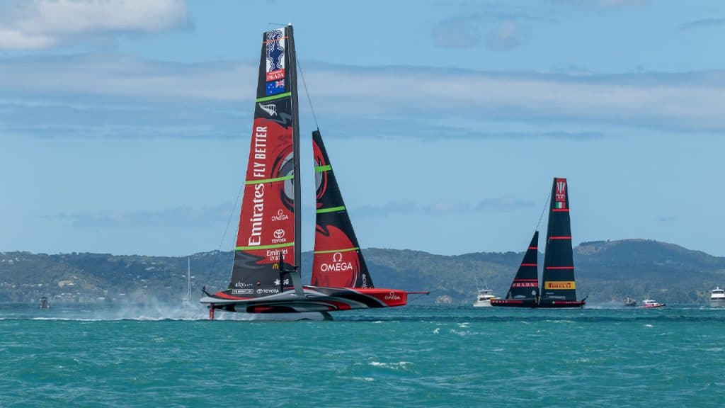 Emirates Team New Zealand Luna Rossa