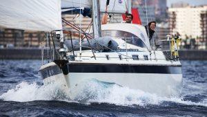 Atlantische oversteek voor de eerste keer met Emma en Roger