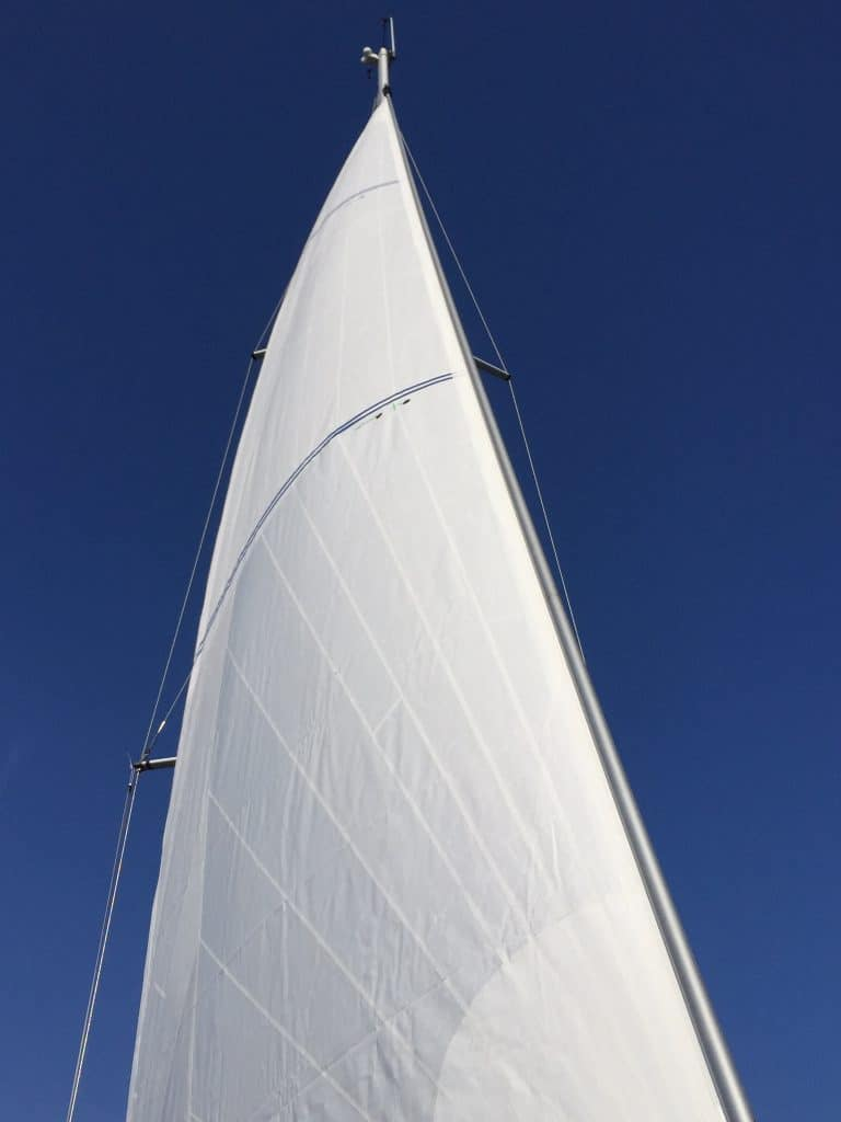 NordicSails PYB-design tool in de small-panel lay-out