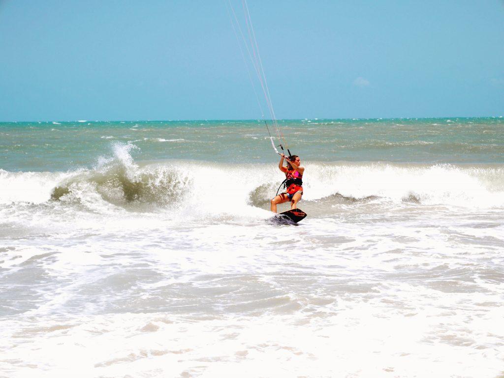 Kelly kitesurfen brazilie
