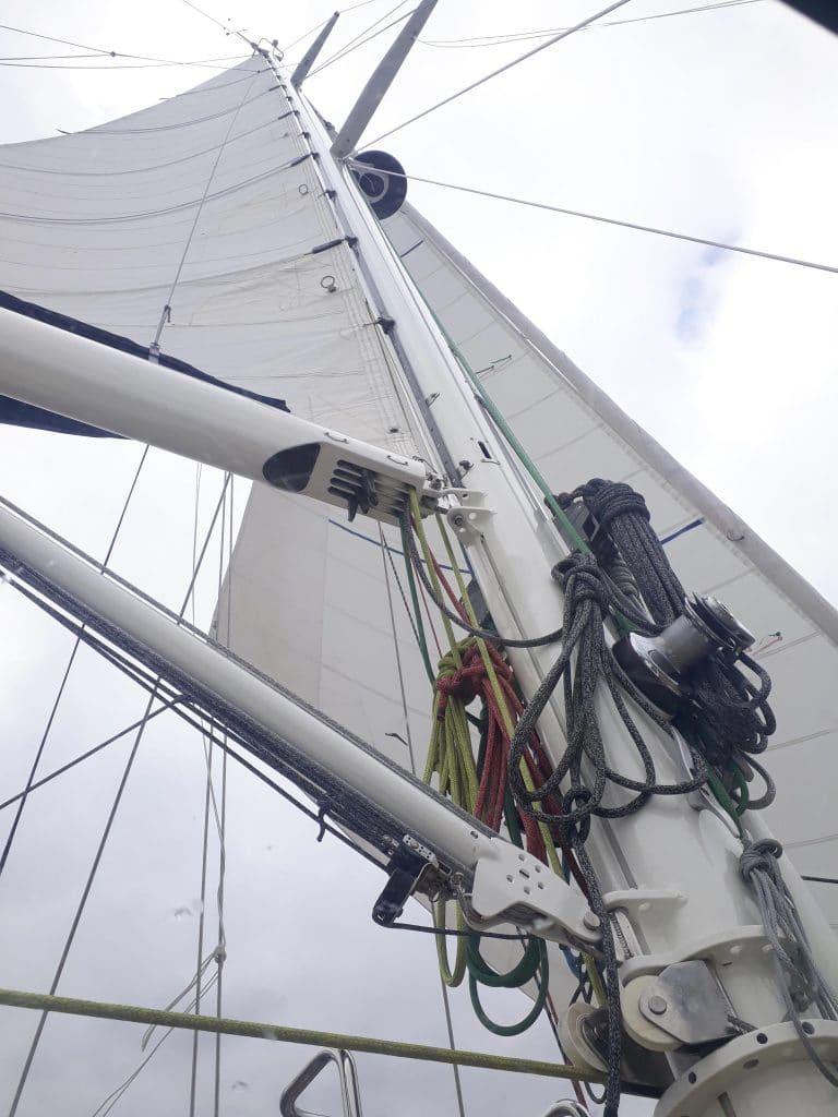 Pasen zeilen Zierikzee refit mast