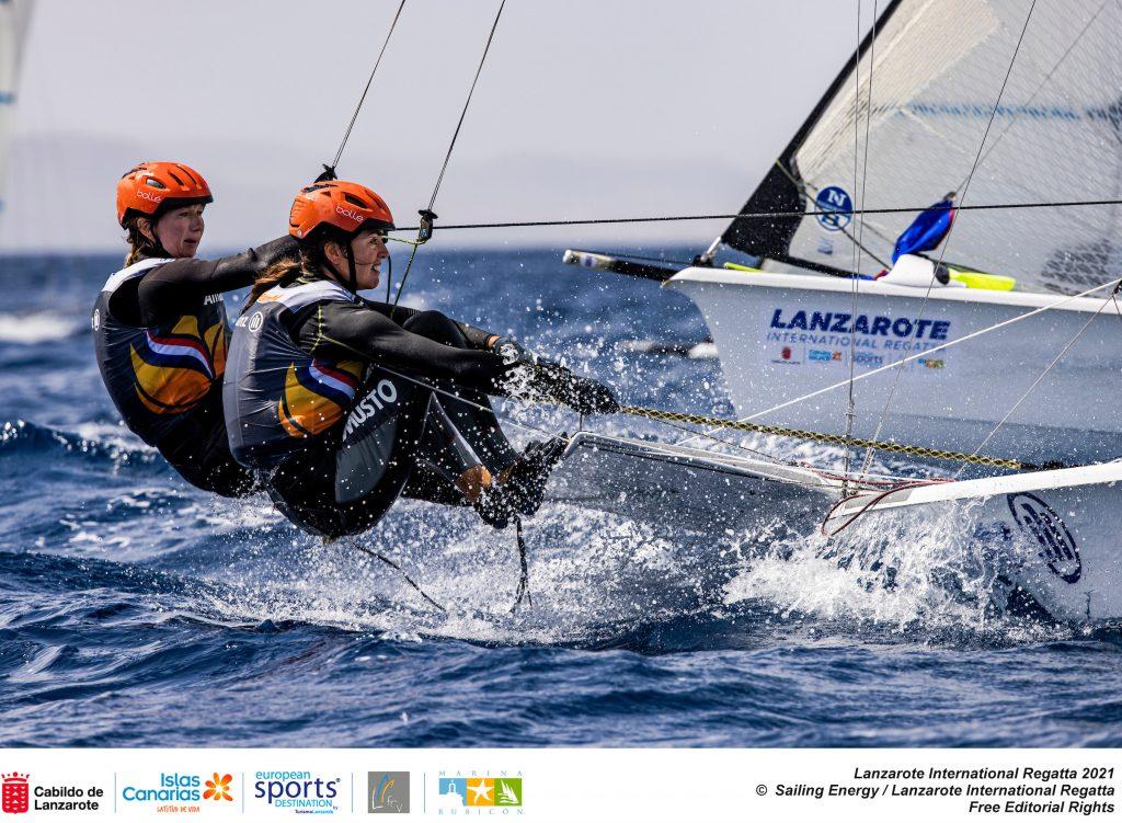 Annemiek Bekkering en Annette Duetz in voorbereiding op de Olympische Spelen Tokio
