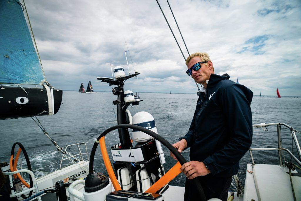 Gerwin Jansen schipper The Austrian Race Project
