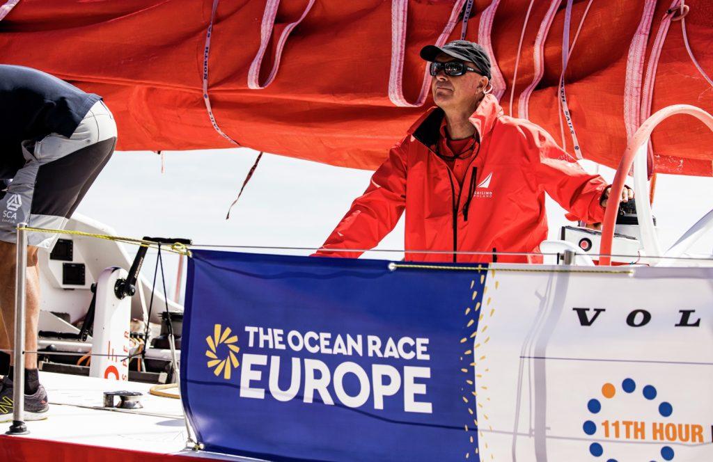 Bouwe Bekking schipper Sailing Poland in The Ocean Race Europe
