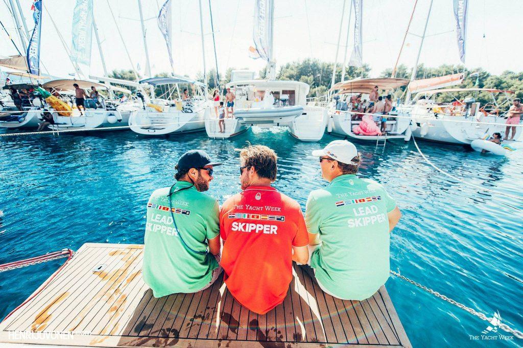 Yachtweek charter kapitein