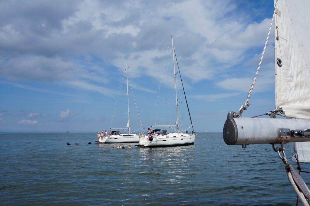 Dobberen op het IJsselmeer