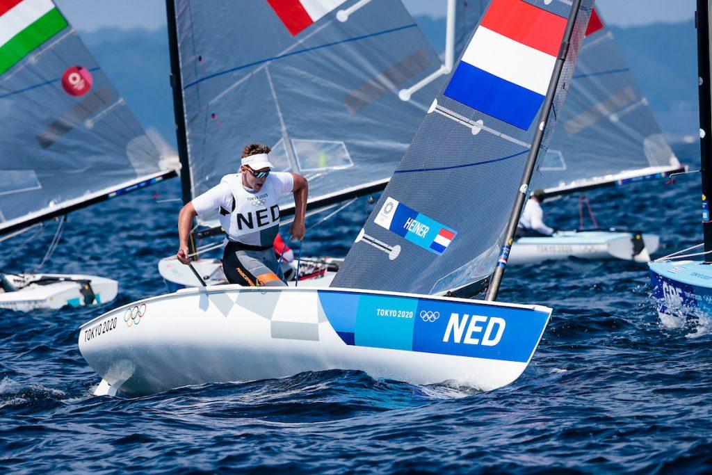 Nicholas Heiner Olympische Spelen Finn